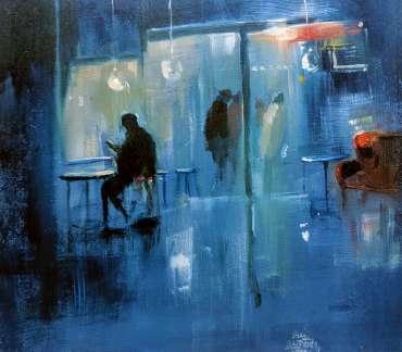 Thumbnail image of Linda Sharman, 'Figures Through the Town' - Inspired |  May