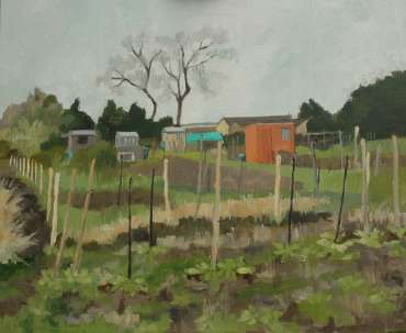 Thumbnail image of Mary Rodgers, 'Getting Ready for Planting' (work in progress) - Inspired |  May