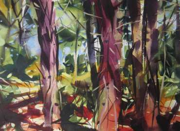 Thumbnail image of Peter Clayton, 'Coastal Pines - Approaching the Sea' - Inspired |  May