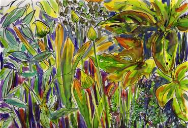 Thumbnail image of Sue Clegg,Garden Study 2 for 'England's Green and Pleasant Lands' - Inspired |  May