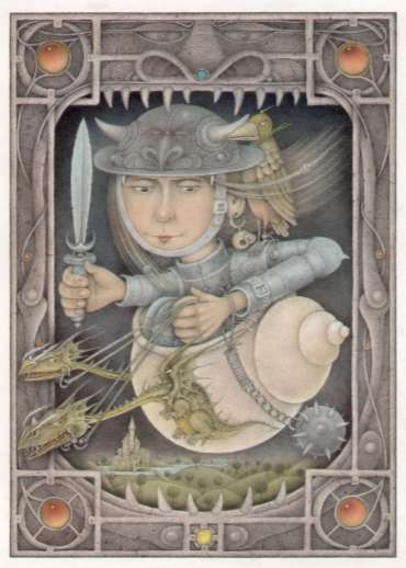 Thumbnail image of Wayne Anderson, 'Female Warrior' - Inspired |  May