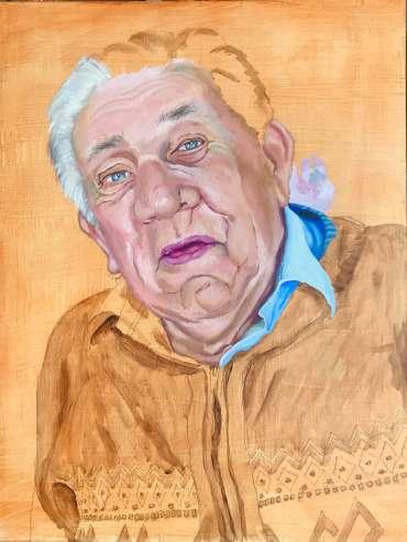 Thumbnail image of Frank Bingley, 'Alan - Gone but not Forgotten' (work in progress) - Inspired   June