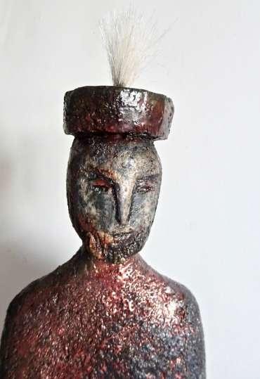 Thumbnail image of Henrietta Corbett, 'Tribal King' - Inspired   June