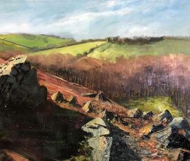 Thumbnail image of Jo Sheppard, 'Permissive Path' (work in progress) - Inspired   June