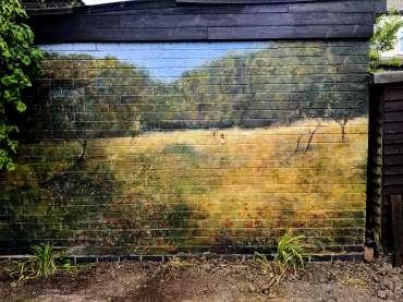 Thumbnail image of Linda Sharman, 'Renoir on my Garage Wall' Med, Acrylic , a few tweaks on the way. - Inspired   June