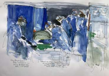 Thumbnail image of Maxine Dodd, 'Royal Free Hospital', BBC 11.05.2020 - Inspired   June