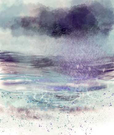 Thumbnail image of Vivien Blackburn, 'Approaching Rain' - Inspired   June