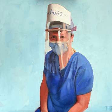 Thumbnail image of Lisa Timmerman 'Hogg' (Portrait for NHS Heroes) - Inspired | July