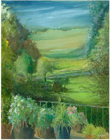 Thumbnail image of Glen Heath, 'Canal Garden Above' - Inspired | August
