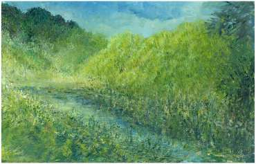 Thumbnail image of Glen Heath,'Canal Garden, The End' - Inspired | August