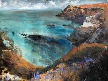 Thumbnail image of Jo Sheppard, 'Solva 1' (work in progress) - Inspired | August