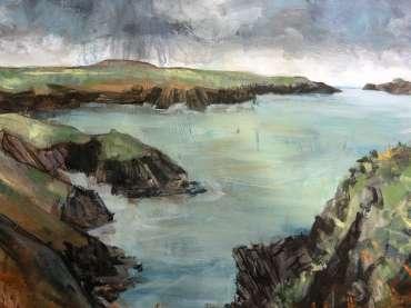 Thumbnail image of Jo Sheppard, 'Solva 2'(work in progress) - Inspired | August