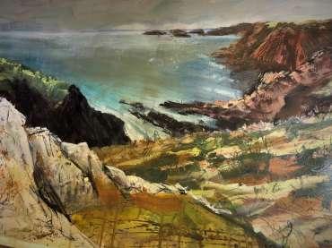 Thumbnail image of Jo Sheppard, 'Solva 3'(work in progress) - Inspired | August
