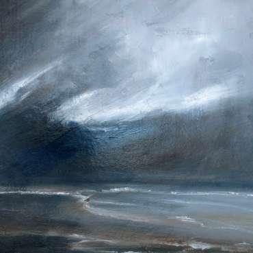 Thumbnail image of Linda Sharman, 'Stormy Sky, Norfolk' - Inspired | August