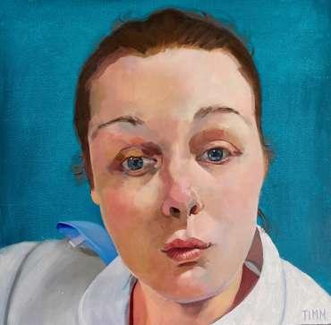 Thumbnail image of Lisa Timmerman, 'Nurse Bethany, St James Hospital, Leeds' - Inspired | August