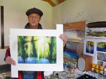 Thumbnail image of Philip Dawson holding 'Barnsdale Wood at Rutland Water' - Inspired | August