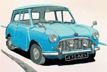 Thumbnail image of Frank Bingley, 'Austin Mini Seven' - Inspired | November 2020