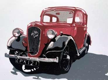 Thumbnail image of Frank Bingley, 'Austin Seven' - Inspired | November 2020