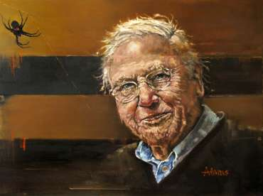 Thumbnail image of Kelvin Adams, Sir David Attenborough - Inspired | November 2020