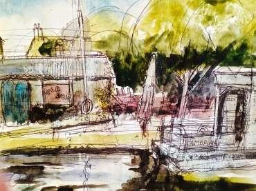 Thumbnail image of Tony O'Dwyer, 'Barrow on Soar Marina' - Inspired | November 2020