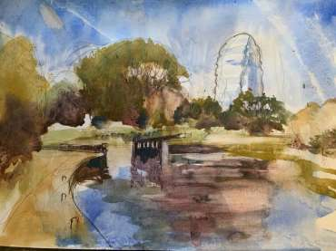 Thumbnail image of Tony O'Dwyer, 'Canal at Leicester Space Centre' - Inspired | November 2020