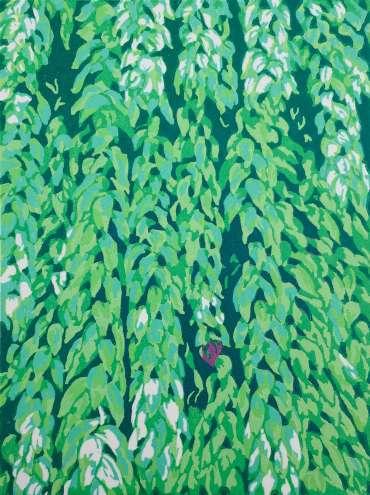 Thumbnail image of Mandeep Dhadhialla, 'Donkey Tail' - Mandeep Dhadialla launches The Laughing Cactus Print Club