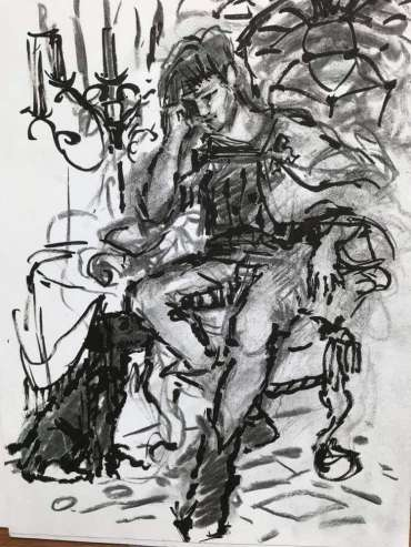 Thumbnail image of Susan Sansome - A String of Pearls by Eve Mason - Illustrated by Susan Sansome