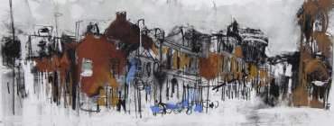 Thumbnail image of Emma Fitzpatrick (Leicester), 'Rutland Street, Leicester' - 'Virtualsketch'  Walk in Leicester has global success