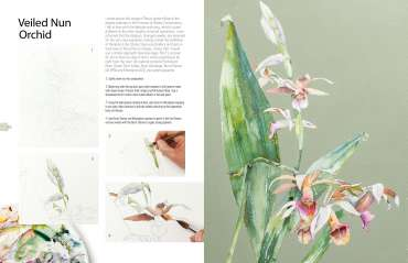 Vivienne Cawson - The Kew Book of Painting Flowers in Watercolour, published January 2020