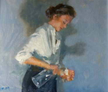 Thumbnail image of 47| Graham Lacey | Woman with Water Flask - LSA Annual Exhibition 2021 | Catalogue D - L