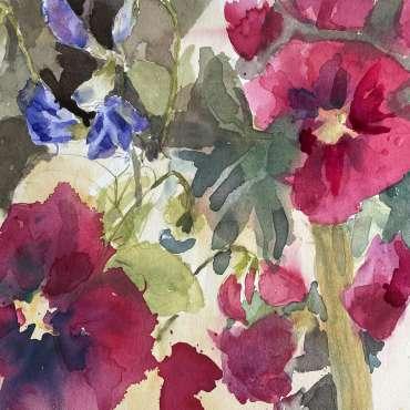 Thumbnail image of 21 | Hazel Crabtree | Carmine Summer - LSA Annual Exhibition 2021 | Catalogue A - C