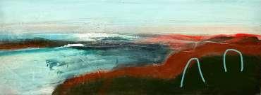 Thumbnail image of 19 | Henrietta Corbett | Red Coastal Path - LSA Annual Exhibition 2021 | Catalogue A - C