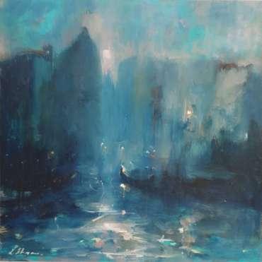 Thumbnail image of 61 | Linda Sharman | Evening Light, Venice - LSA Annual Exhibition 2021 | Catalogue S - Z