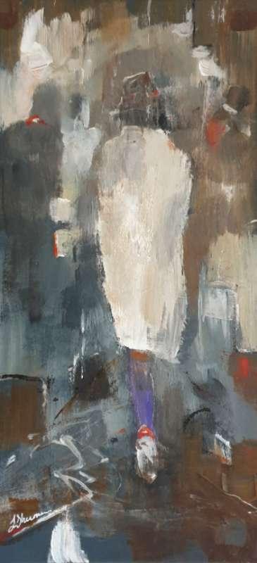 Thumbnail image of 60 | Linda Sharman | Rainy Day, Leicester Market - LSA Annual Exhibition 2021 | Catalogue S - Z