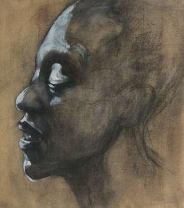 Thumbnail image of 25 | Louise Ellerington | Mermaid Head Study - LSA Annual Exhibition 2021 | Catalogue D - L