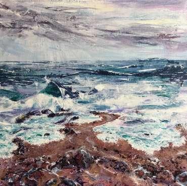 Thumbnail image of 54 | Toni Northcott | October Squall - LSA Annual Exhibition 2021 | Catalogue M - R