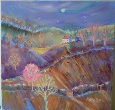 Thumbnail image of Ann C Wignall, Spring in the Hills - Reawakening