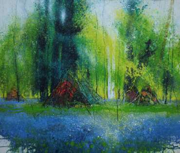 Thumbnail image of Philip Dawson, Paradise in blue, Barnsdale Wood - Reawakening