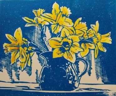 Thumbnail image of Ruth Randall, Daffodils in a Jug - Reawakening