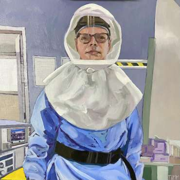 Thumbnail image of Lisa Timmerman, 'Ralph' - Portraits for NHS Heroes | Lisa Timmerman
