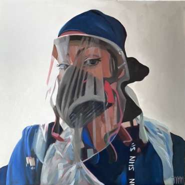 Thumbnail image of Lisa Timmerman, 'Renee' - Portraits for NHS Heroes | Lisa Timmerman