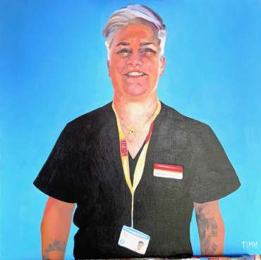 Thumbnail image of Lisa Timmerman, 'Tracey' - Portraits for NHS Heroes | Lisa Timmerman