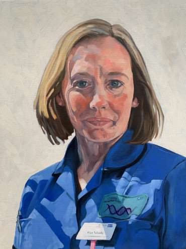 Thumbnail image of Lisa Woods - Portraits for NHS Heroes by Alex Cooper