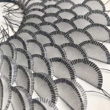 Thumbnail image of Linear Cycle (detail) by Amy Bonsor