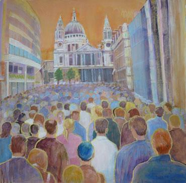 St Paul's by Ann Wignall