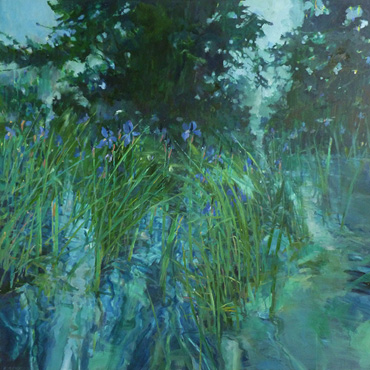 Water-Meadow 1 by Christopher Bent