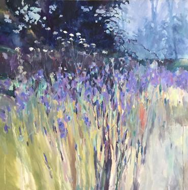 Wild Iris Field by Christopher Bent
