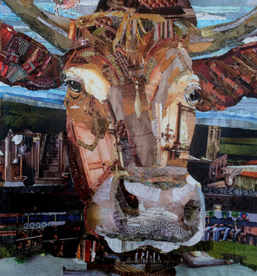 Thumbnail image of Face on Cow by Danielle Vaughan