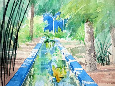 Thumbnail image of Yves Saint Laurent's Garden in Marrakesh by Douglas Smith
