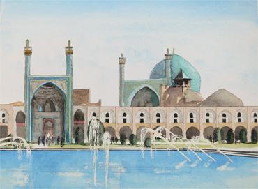 Sheikn Lotfollah Mosques, Isfahan, Iran by Douglas Smith